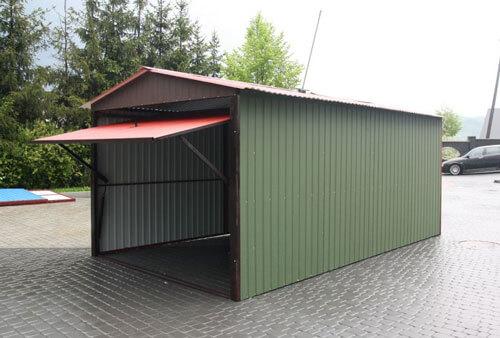 Как сделать легкий гараж 79